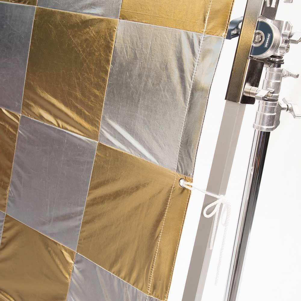 Gold Silver Checkerboard